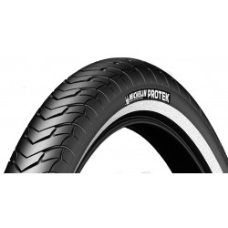 Cubierta Michelin Protek 700x28 Reflectante Rigida