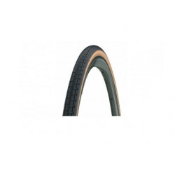 Cubierta Michelin Dynamic Classic 700x23 Negro/Marrón Rígida