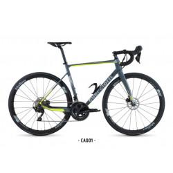 Bicicleta Guerciotti Cartesio Disc 2021Shimano 105 R7000 Gris/Amarillo