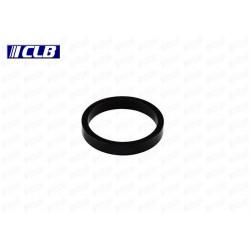 Separador Dirección CLB Aluminio Negro Brillo 10 mm