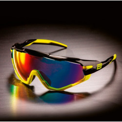 Gafas BRN RX01 Negro/Amarillo Fluo