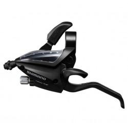 Maneta Izquierda Cambio/Freno Shimano ST-EF500 Triple Negro