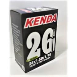 Cámara Kenda 26x1.50/1.75 Válvula Presta 42mm