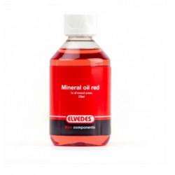 Líquido Frenos Disco Elvedes Hidráulico Mineral Rojo Bote 250 ml